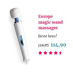 europe magic wand massager