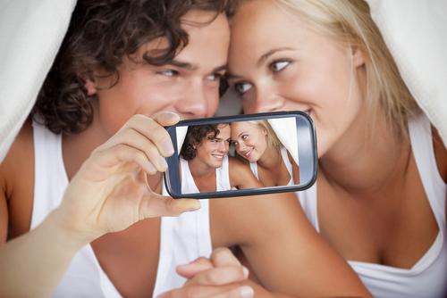 foto's maken tijdens de seks