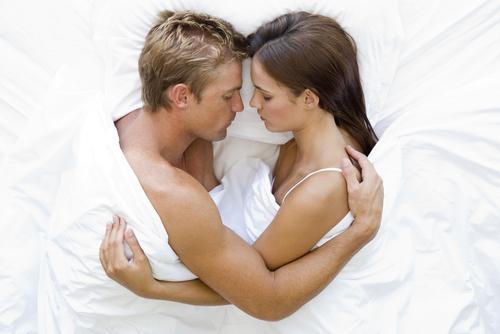 In bed na de seks