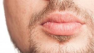 Erogene zone: de lippen