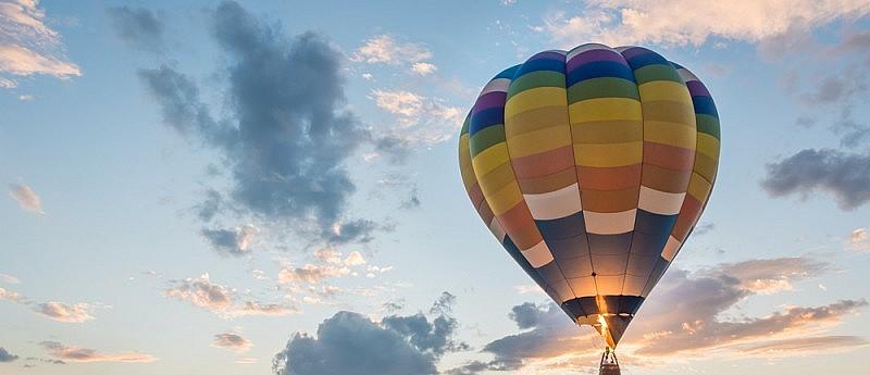Seks in een luchtballon