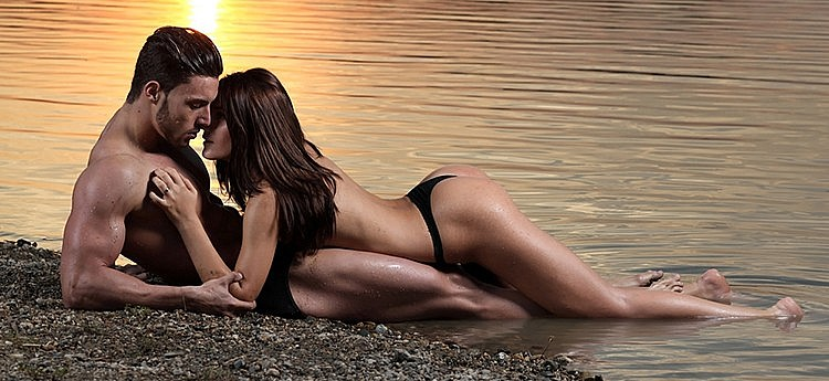 seks op het strand